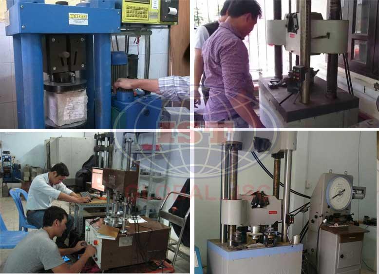 Las Toàn Cầu cung cấp dịch vụ thí nghiệm vật liệu xây dựng uy tín tại Hà Nội