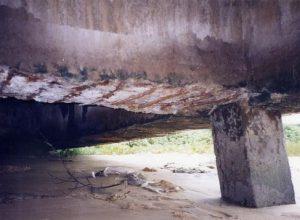 Sự ăn mòn bê tông cốt thép do nước