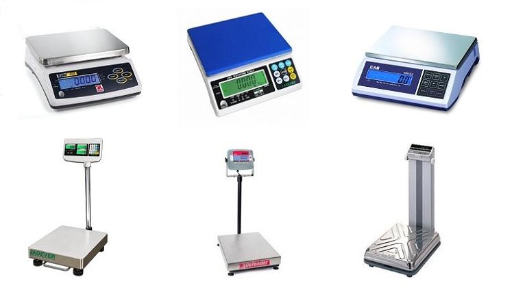 Một số loại cân điện tử