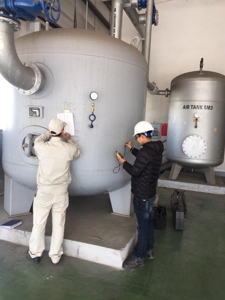 Công ty Toàn Cầu cung cấp dịch vụ kiểm định bình khí nén tại Hà Nội